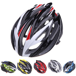 Wholesale Wholesale Bike Helmets - 2014 NEW 21 Vents Ultralight Sports Men Mountain Road MTB Bike Bicycle Helmet with Lining Pad Cycling Helmets Adult DHL H10766