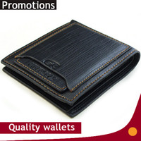 Wholesale Quality Mens Wallets - Exports New mens brand design leather luxury purses wallet short cross high quality wallets for men free shipping