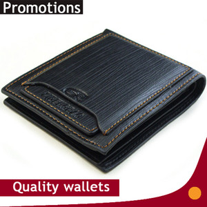 Wholesale Exports New mens brand design leather purses wallet short cross high quality wallets for men