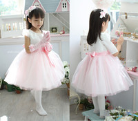 Wholesale Halloween Light Buy - New style Flower Girl Dresses &dancing party focus   buy one dress get two free gift