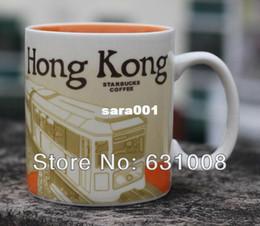 Wholesale Starbucks Bone China Cups - Wholesale-Free shipping Starbucks mug Genuine City mug Ceramic coffee cup Tea cup mugs and cups Tumbler Pattern Hong Kong