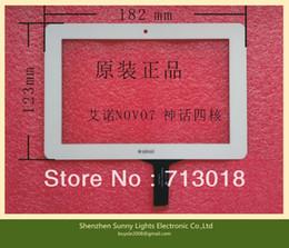 Wholesale Ainol Novo Quad Core - Wholesale-Wholesale! 10PCS Lot Original 7``inch Ainol novo 7 Venus Quad Core Tablet PC Ainol Touch Screen Touch Panel black white