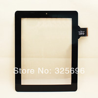 Wholesale quot inch Capacitive Touch Screen Digitizer Glass Replacement For Onda Tablet PC V971 Dual Core L4080A C00