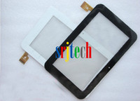 Wholesale N77 Screen - Wholesale-7 INCH AMPE A76 SAMEI N77 Tablet Computer Touch Screen Digital Instrument Glass Lens Touch Panel Cable TPC0185 Free Shipping