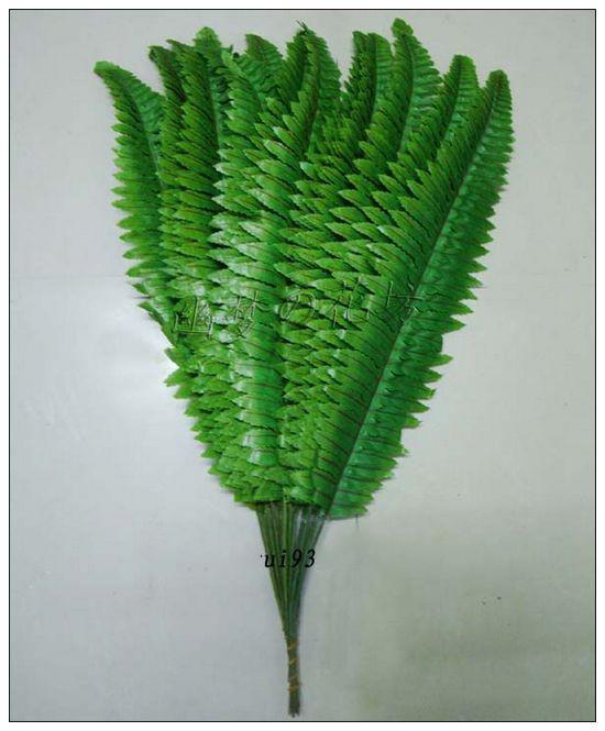 Artificiale piante di seta foglia simulazione persiana erba foglia artificiale foglia verde foglia verde foglia artificiale fiore fai da te matrimonio home decor