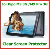 "Wholesale Pipo M9 Screen Protector - 50pcs Customized Crystal Screen Protector for Pipo M9   M9 Pro 3G 10.1"" Tablet PC Protective Guard Film Wholesale"