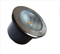 Wholesale Factory direct sale W COB LED underground light IP68 Buried recessed floor outdoor lamp DC12V V OR AC85 V