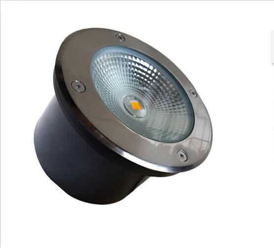 Фабрика прямые продажи Бесплатная доставка 15 Вт COB LED подземный свет IP68 похоронен встраиваемый в пол напольный светильник DC12V 24 В ИЛИ AC85-265V