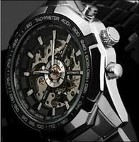2019 New Winner Luxury Sport Clock Men Automatic Watch Skele...