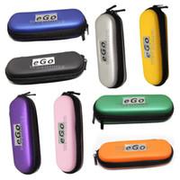 ecigarette ego ce4 kiti toptan satış-EGO fermuar Durumda eGO çanta Ecigarette Fermuar Taşıma çantası Elektronik Sigara Için Çeşitli Renkler Go-T CE4 CE5 E Çiğ eGO Başlangıç Kiti e-cigs