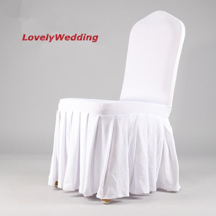 high quality spandex chair covers with skirt cover chair spandex