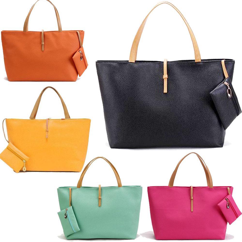 Women'S Handbag Fashion Formal Buckle All Match Portable One ...