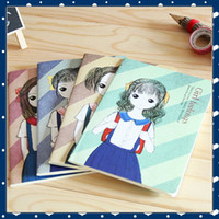 Wholesale School Notebook A5 - [FORREST SHOP] Kawaii Korean Composition Notebook School Stationery Office Supplies Cute A5 Diary Paper School Note Book FRS-159