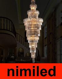$enCountryForm.capitalKeyWord Canada - nimi337 Luxury Double Staircase Lamp Chandelier Villa Living Room Chandeliers Hotel Engineering Pendant Lamps Droplight Lights