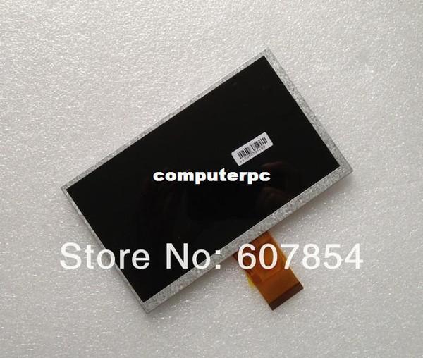 Großhandels-D47 7 Zoll Tablettenanzeige KR070PB2S 1030300107 REV: E 165x100mm Stärke 3mmTablet PC Anzeige LCD geben Verschiffen frei