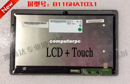 Wholesale Acer New Touch - Wholesale-new A+B116HAT03.1 tablet laptop lcd+ touch screen for Acer aspire w700 11.6 inch HD1920X1080
