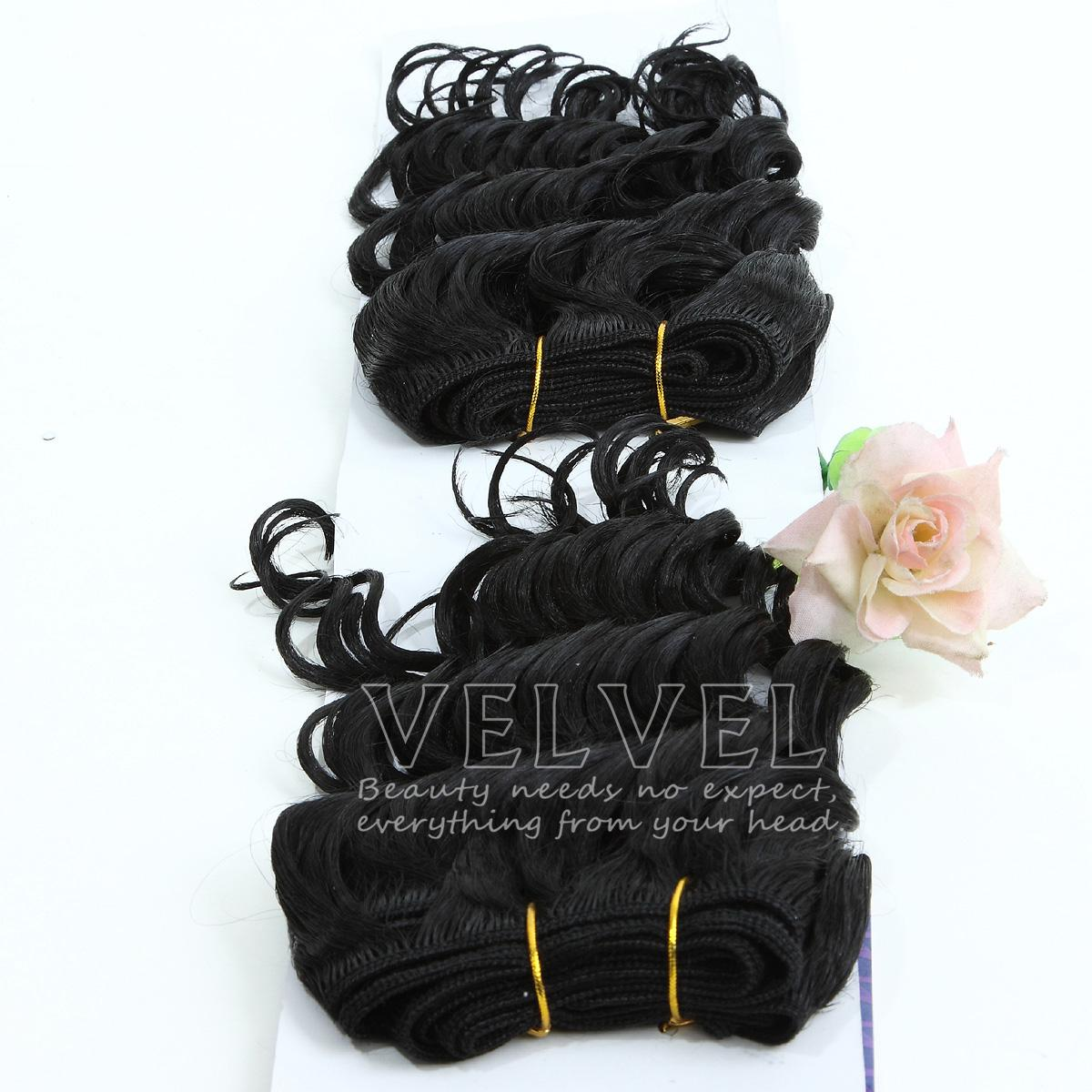 Amazing Hair Deep Wave Hair Extension Human Hair Blend Synthetic