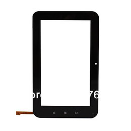 Wholesale Viewsonic Screen - Wholesale-Outer Capacitive Touch Screen Replacement for 7inch Viewsonic ViewPad VB70 Android Tablet PC screen for vb70,Free Shipping