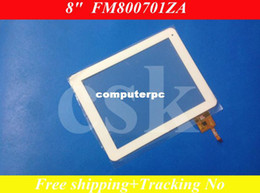 Wholesale Tablet Newpad - Wholesale-(Ref:FM800701ZA) 8inch LCD screen touch LCD touch digitizer panel for Newpad A8 M88 Quad Tablet