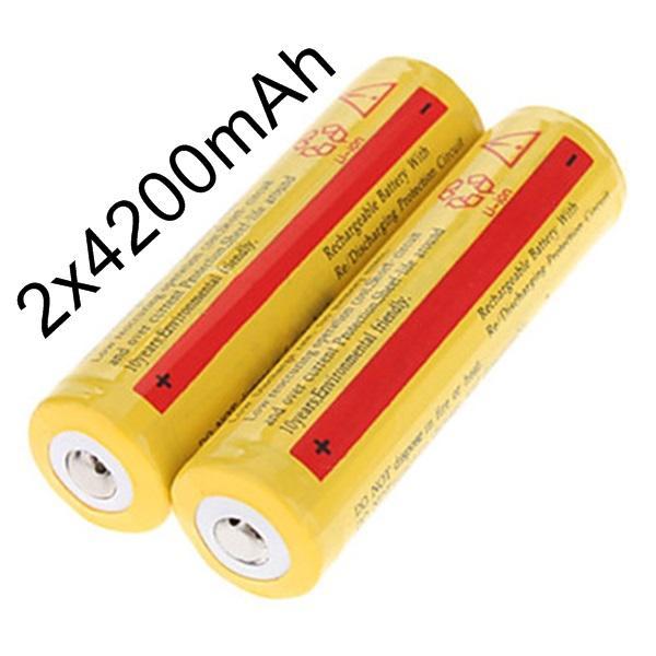 AloneFire Tinteiro HP79 CREE XM-L XML T6 LED 2000 Lumens zoom Farol Recarregável LED Farol + 2x18650 / Carregador / carregador de carro