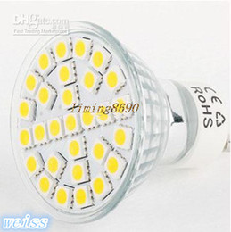 Wholesale E27 Led 29 - By DHL EMS 100X 5W MR16 E27 GU10 LED 5050 29 SMD LED High Power Spot Light HOT