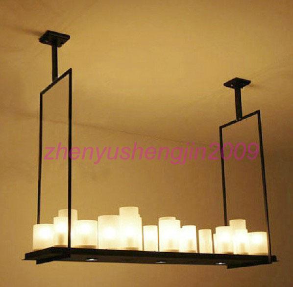 Modern Copper Ring Led Pendant Lighting 10758 Shipping: LED Candle Chandelier Kevin Reilly Altar Modern Pendant