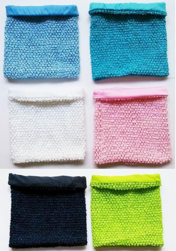 2019 9x10 Inches Lined Crochet Tutu Tube Tops For Girls Tutu Dress