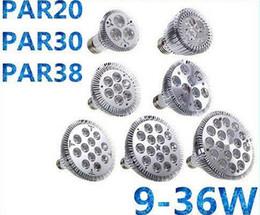 E27 E26 PAR20 PAR30 PAR38 ampoules led 9/14/18/24/30 / 36W Dimmable 110V 220V chaud / pur / froid led spotights vraiment LED HAUT ? partir de fabricateur