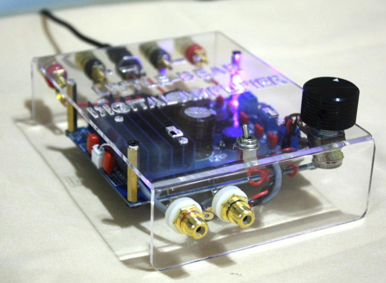 Diy kit make different tda7498 class d stereo digital amplifier amp see larger image solutioingenieria Gallery