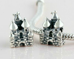 discount sterling silver castle charm | 2017 sterling silver