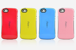 Wholesale Iface Shockproof Iphone Case - iface first class case for iphone 4 4s , PC+TPU shockproof hard case for iphone 4 4s iphone 5 5c without retail box free shipping ! 200pcs