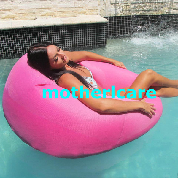 Outstanding 2019 Pink Floating Bean Bag Chair No Air Pump Needed Cover Only Floating Pool Lounger Durable Outdoor Bean Bag Style From Motherlcare 27 14 Caraccident5 Cool Chair Designs And Ideas Caraccident5Info