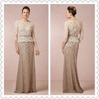 Wholesale Hot Grey Taffeta - 2015 New Arrival Lace Mother Of the Bride Dresses Attire Keyhole Floor-Length Embrioidery Grey Cocktail Prom Celebrity Dress Hot Sale