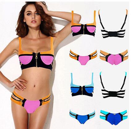 New 2014 Women's Bandage Bikini Set Push-up Padded Swimsuit Bathing Suit Swimwear