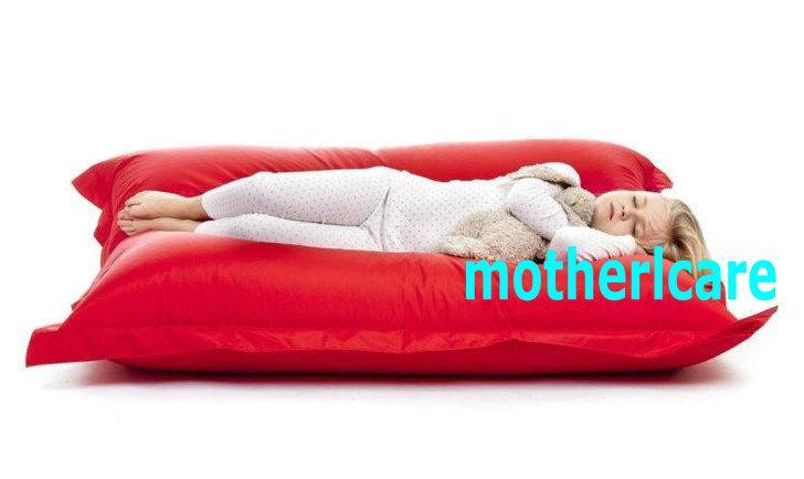 original junior bean bag chair children beanbag sofa lounge kids sitzsack waterproof floor cushion red sleeping mat beds