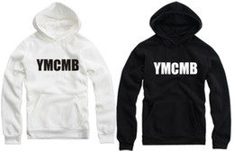 Wholesale Sweatshirt Chinese - Free shipping Chinese size M--4XL Tide brand Hip-Hop clothing YMCMB Pullover hoodies sweatshirts Unisex Hoodie Spring  Fall  Winter 9 color