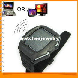 Wholesale Tv Dvd Remote Watch - Wholesale-Multifunction Touch Panel Sport Digital Wristwatch Watch for Men Women Support TV - DVD Remote Control   Alarm   Stopwatch