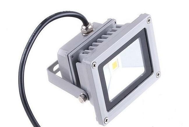 10W Floodlights LED al aire libre IP65 Floodlight impermeable 10 vatios Luces de inundación de alta potencia Lavabo de pared Lavado de pared Iluminación CE Rosh 2 años Garantía