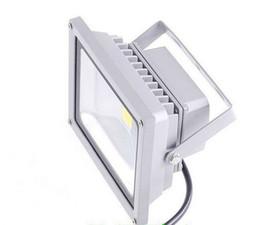 Wholesale Led Reflector 12v - DC 12V AC 85-265V 20W LED Outdoor Flood Light Reflector Waterproof IP65 Advertisement Floodlight 20 Watts High Power Landscape Spot Lighting