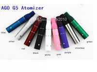 Wholesale g5 atomizer chambers for sale - Group buy Ago G5 Atomizer Dry Herb Chamber Cartridge Vaporizer Clearomizer for Wind proof E Cigarette Dry Herb Pen style Electronic cigarette e cig
