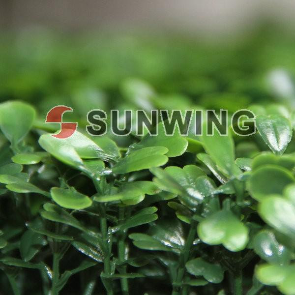 2018 new high quality anti uv artificial boxwood hedge fake plants