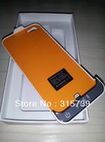 Wholesale External Battery 5g - Ultra thin 2200mAh external battery for iPhone 5 5g battery case 10pcs lot DHL free shipping