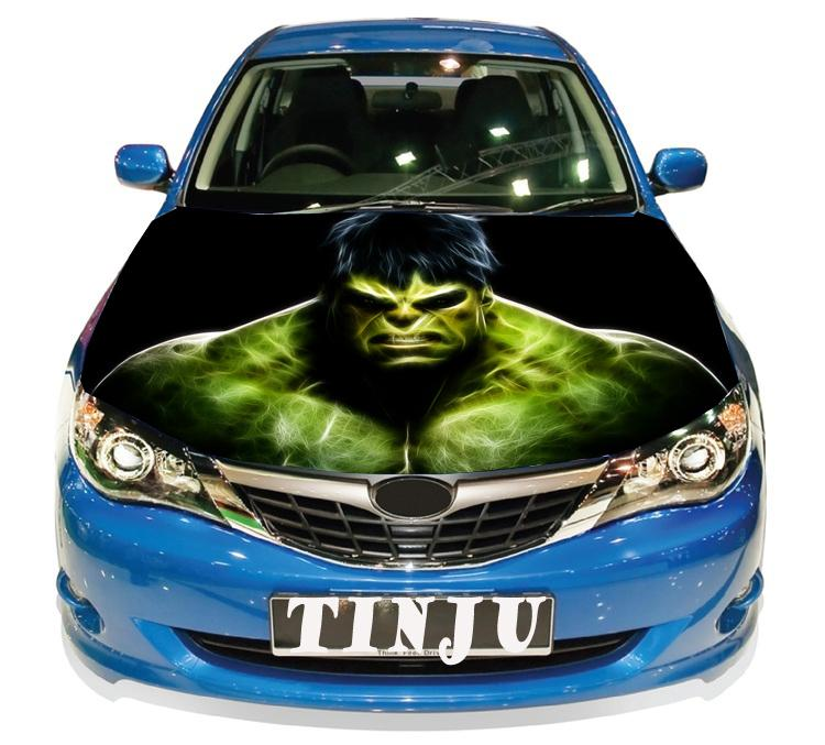 Anime Hulk Pvc Self Adhesive Vinyl Car Hood Stickers Design - Car sticker design