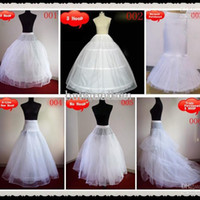 Wholesale Brides Underskirt - 2017 Cheapest Petticoat underskirt for Brides Free Style Free Shipping Ball Gown A Line Wedding Dresses Quinceanera Tutu