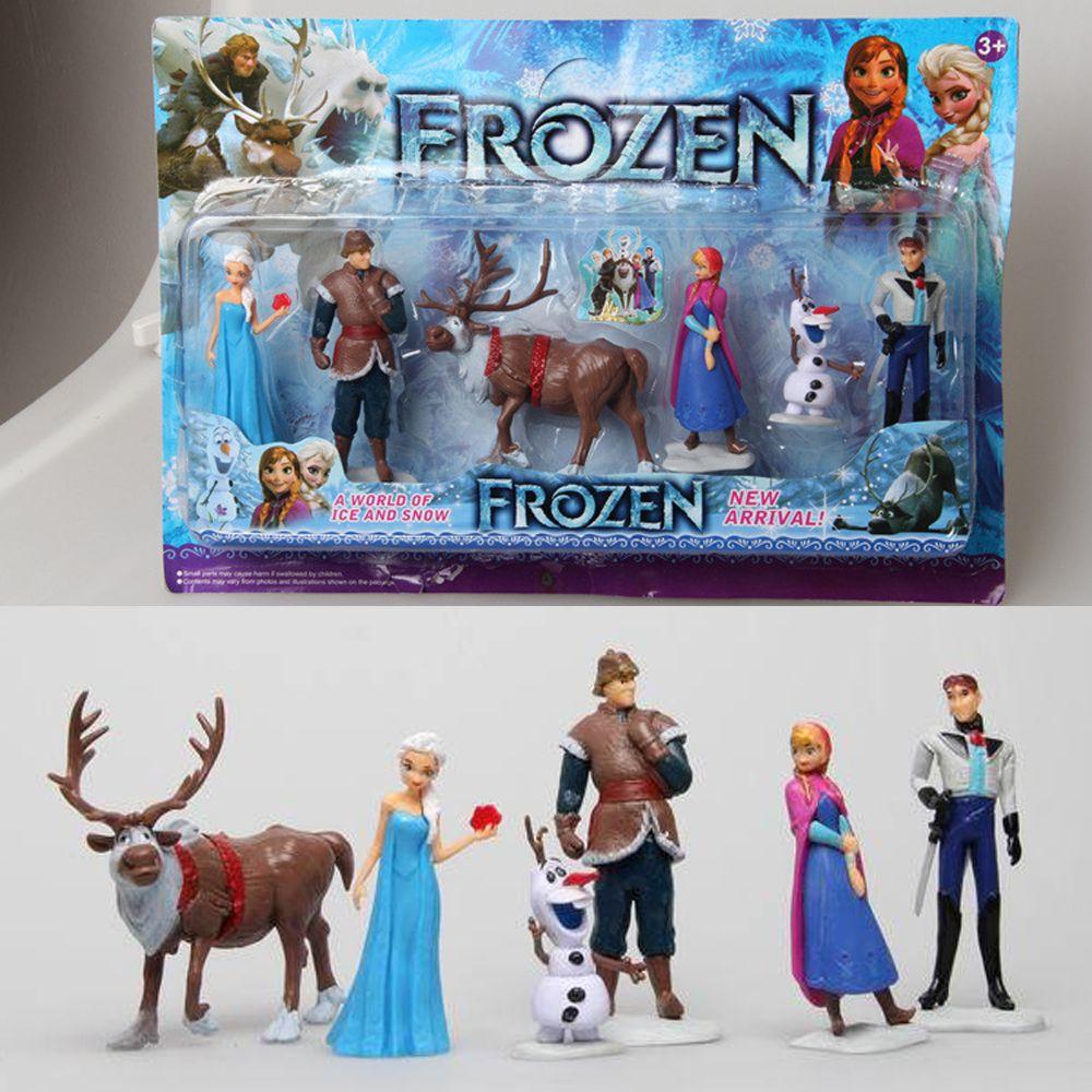 Wholesale Retail Frozen Princess Elsa Anna Kristoff Olaf Hans Sven