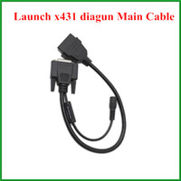 Wholesale Diagun Main - 2pcs lot Original Launch x-431 diagun main cable Launch X431 spare parts