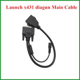 Wholesale Launch X431 Main Cable - 2pcs lot Original Launch x-431 diagun main cable Launch X431 spare parts