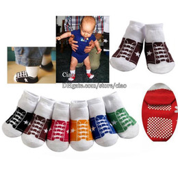 Wholesale Model Shoes Boys - Baby Boys Socks Cute Socks Children Clothing Kids Short Sock Ankle Socks Baby Floor Socks Anti-Slip Sock Boys Clothes Shoes Modelling Socks