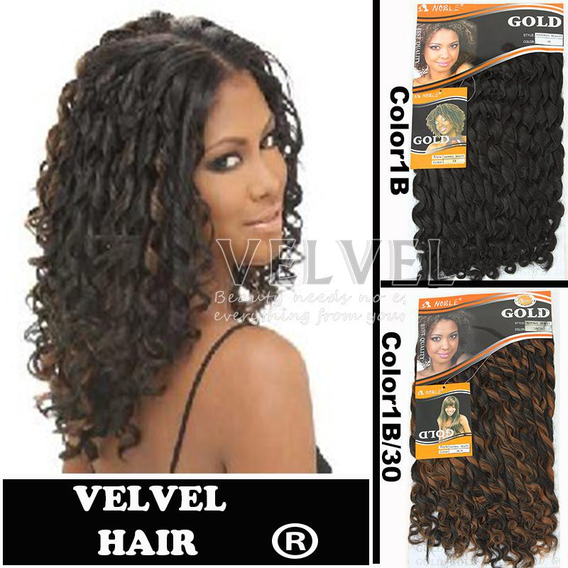 Noble gold natural beauty natural weave curly color1b1b30 see larger image pmusecretfo Gallery
