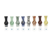 Wholesale Ego T Tips - Hot Selling 510 EGO Atomizer Drip Tips Natural Jade Gourd Drip Tip E Cig Tanks Mouthpieces For CE4 EGO T EGO W Vivi Nova EVOD E Cigarettes